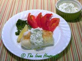 From the Garden - Cucumbers...Cod Fillets with Cucumber Dill Sauce