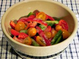 From the Garden...Garden Pepper Salad