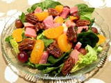 From the Garden...Ham Pecan Tossed Salad