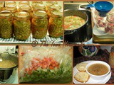 From the Garden...Home Canned Ham Bean Soup