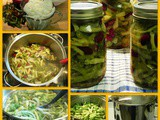 From the Garden...Home Canned Three Bean Salad