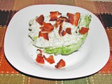From The Garden...Lettuce Wedge Salad
