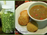 From the Garden...Open Hearth Split Pea Soup