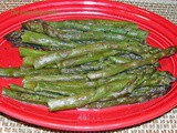 From the Garden...Oven Baked Asparagus