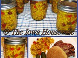 From the Garden...Sue's Easy Corn Relish