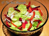 From the Garden...Summer Cucumber and Sweet Pepper Salad