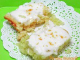 Frosted Lemon Cake Bars