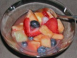 Ginger Glazed Fruit