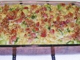 Ham and Broccoli Pasta Casserole