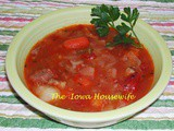 Ham Vegetable Soup
