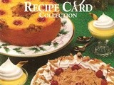 Holiday Recipe Card Collection