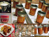 Home Canned Beans with Pork and Tomato Sauce