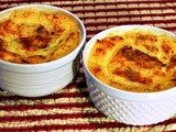 Individual Country Grits and Sausage Casseroles