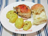 Lemon Roasted Chicken Thighs and Potatoes