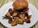 Mustard and Rosemary Roasted Potatoes