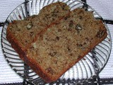 Nutty Applesauce Bread