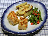 Oven Baked Fish and Chip Platter