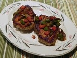 Pan Fried Pork Chops with Pepper Medley