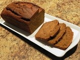 Peanut Butter Pumpkin Bread