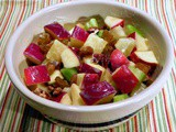 Pineapple Waldorf Salad with Old Fashioned Dressing