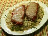 Pork Chops with Caraway Rice
