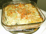 Potato Cottage Cheese Au Gratin