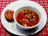 Quick and Hearty Vegetable Barley Soup