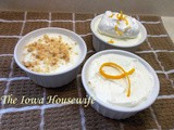 Saturday Thoughts...Small Recipe Orange Mousse