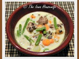 Sausage Meatball and Green Bean Chowder