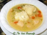 Self-Rising Flour...Chicken or Turkey Stew with Dumplings
