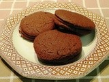 Slice and Bake Chocolate Wafer Cookies