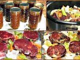 Slow Cooker Beef Stock
