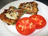 Spinach and Black Bean Lasagna