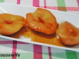 Sweet Wine and Honey Roasted Pears