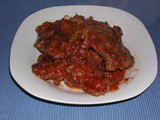 Swiss Steak with Chili Sauce