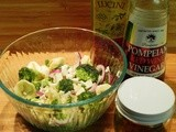Tortellini, Broccoli and Blue Cheese Salad