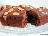 "Cranberry and Chocolate Brownie ""Cake"""