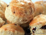 Dried Cherry and Vanilla Scones