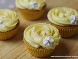 Mother's Day Lemon Curd Cupcakes