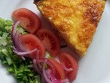 Quiche Lorraine and Salad