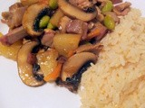 Roast Pork Sweet & Sour Stir Fry (And a quick dessert)