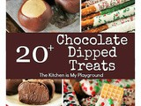 20+ Chocolate Dipped Treats For Christmas