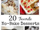 20 Favorite No-Bake Desserts