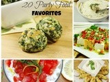 20 Party Food Favorites {Playground Round-Up}
