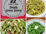22 Recipes Starring Fresh Green Beans