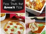 50 Pizza Treats That Aren't Pizza! {Playground Round-Up}