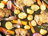 Balsamic Chicken Sheet Pan Supper