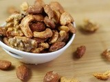 Barbecue Roasted Mixed Nuts {& the story of a photo shoot}