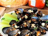 Buffalo Steamed Mussels Recipe
