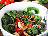 Can Wilted Spinach Salad Be a Celebration of My Cancer Journey